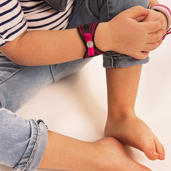 Bracelet rose créations Zö